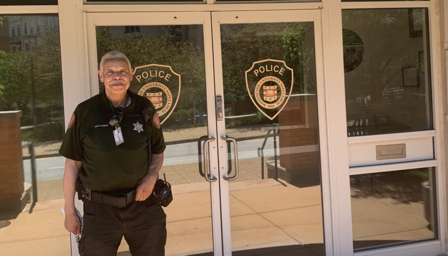 "After 39 Years Of Service With Our Campus Community We Say ""Good-bye"" to Security Guard Zach Dunbar"