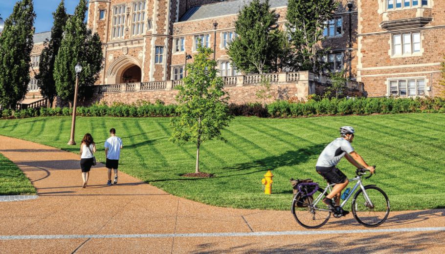 Do you ride a bike on the Danforth campus?